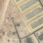 Army base with bunkers (Google Maps)