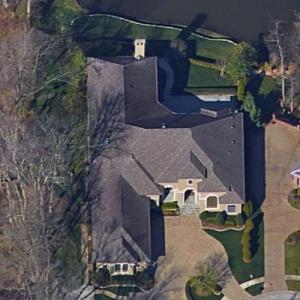 Charlie Strong's House (Google Maps)