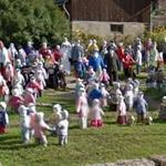 Garden of dolls