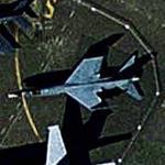F-8E(FN) Crusader (Google Maps)