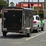 Google Car and tricycle trailer