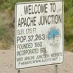 Welcome to Apache Junction