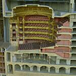 Scale model of the Paris Opera