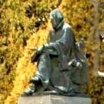 Gáspár Károli's statue