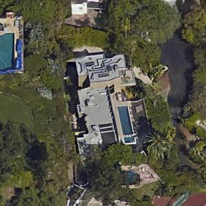 Dan Bilzerian's House (leased - former) (Google Maps)