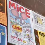 MICE - Massachusetts Independent Comics Expo poster