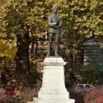 Bálint Balassi's statue