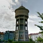 Szeged water tower