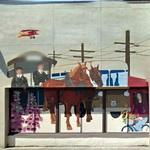 Heritage Bank building mural
