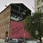 Chopin in Warsaw Mural (StreetView)