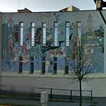 Mural on Erste Bank Office