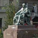 Mór Jókai's statue