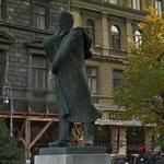 Endre Ady's statue