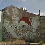 Cyber and Gregor Mural in Lodz (StreetView)