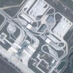 Huge border control station between Bulgaria and Romania (Google Maps)