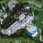 Rod Stewart's House (Google Maps)