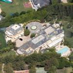 Rod Stewart's House (Google Maps)