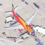 "Boeing 737 ""Arizona One"" (Google Maps)"