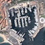 Cannes Harbour (Google Maps)