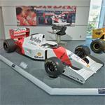Ayrton Senna's 1992 F1 car