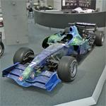 Jenson Button's 2007 F1 car