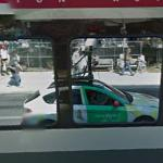 Reflection of Google Car