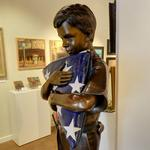 """Field of Blue"" by George Lundeen"