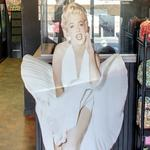 Marilyn Monroe life-sized cardboard cutout
