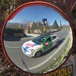 Reflection of the Google Car