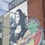 Mona Lisa Graffiti