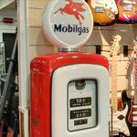 Antique gas pump (StreetView)