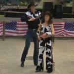 Cowboys and cowgirl (StreetView)