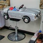 Mercedes barber shop chair