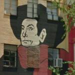 Mural of Aristide Bruant