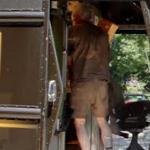 UPS delivery person