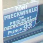 """Tony Preckwinkle for President - Cook County Board"" (StreetView)"