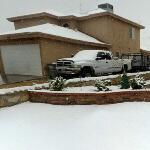 Snow day in El Paso, 3 January 2013