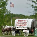Covered wagon (StreetView)