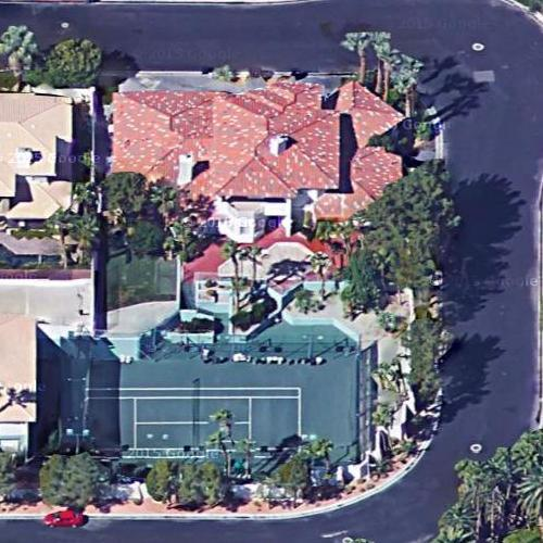 Andre agassi 39 s house in las vegas nv virtual globetrotting for Homes by andre