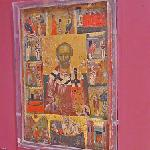 Saint Nicholas with scenes from his life