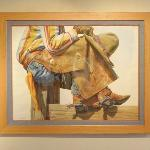 'Cowboy on Post' by Nelson Boren