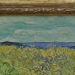 Van Gogh's Wheat Field with Cornflowers