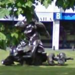 'Seated Woman' by Willem de Kooning (StreetView)