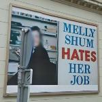 'Melly Shum Hates Her Job' by Ken Lum