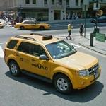 Ford Escape taxi cab (StreetView)