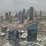 View from Burj Khalifa (73rd floor)