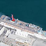 Carnival Liberty (Google Maps)