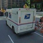 US Postal delivery truck