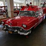 1956 Cadillac fire/rescue vehicle