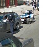 Driver Getting A Ticket (StreetView)